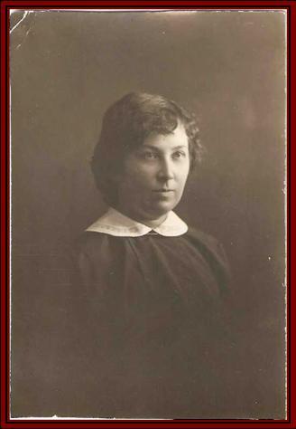 1908 год Пиуновская Е.В. одна из первых учителей Сосновской школы